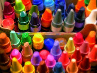 Mr. Rogers Visits a Crayon Factory