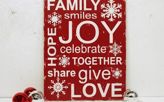 Holiday Word Cloud to Make