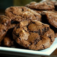 Chocolate Mint Chocolate Chip Cookies