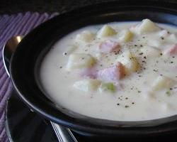 Best Ham and Potato Soup Ever!
