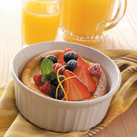 Awesome Puffy Oven Pancake with Fresh Fruit