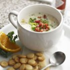 Skinny Clam Chowder; Photo Credit: Delish