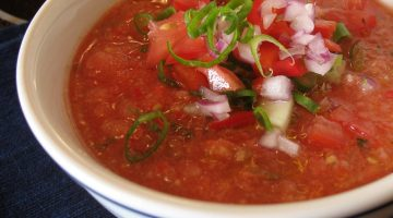 Blender Gazpacho: Cold Soup for Hot Nights