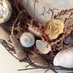 Shabby Chic Flower Made from Onion
