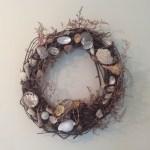 DIY Shabby Chic Coastal Living Wreath
