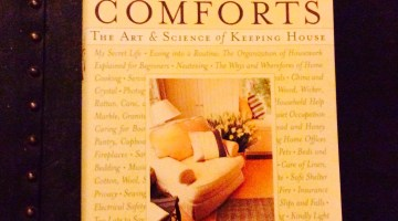 "We have a Winner!  Giveaway:  ""Home Comforts"" by Cheryl Mendelson"