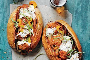 Easy Meatball Subs for Game Day