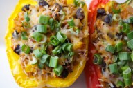 SkinnyTex-Mex Stuffed Peppers