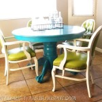 table and chair makeover