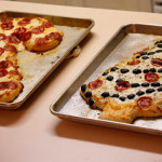 Candy Cane Pizza