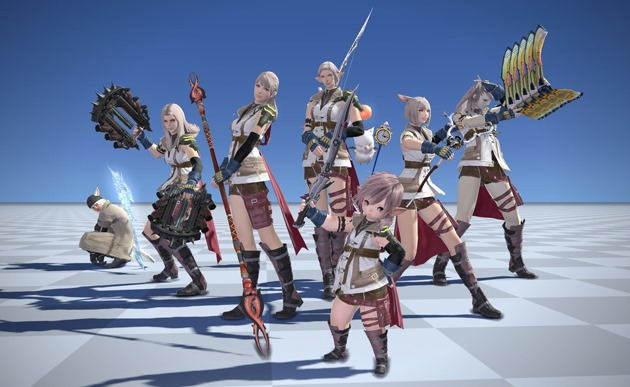 Final Fantasy XIV Will Have Costumes And Weapons From