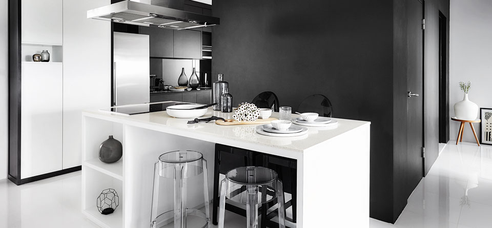 Get Inspired By This Chic Black And White HDB Flat SquareRooms
