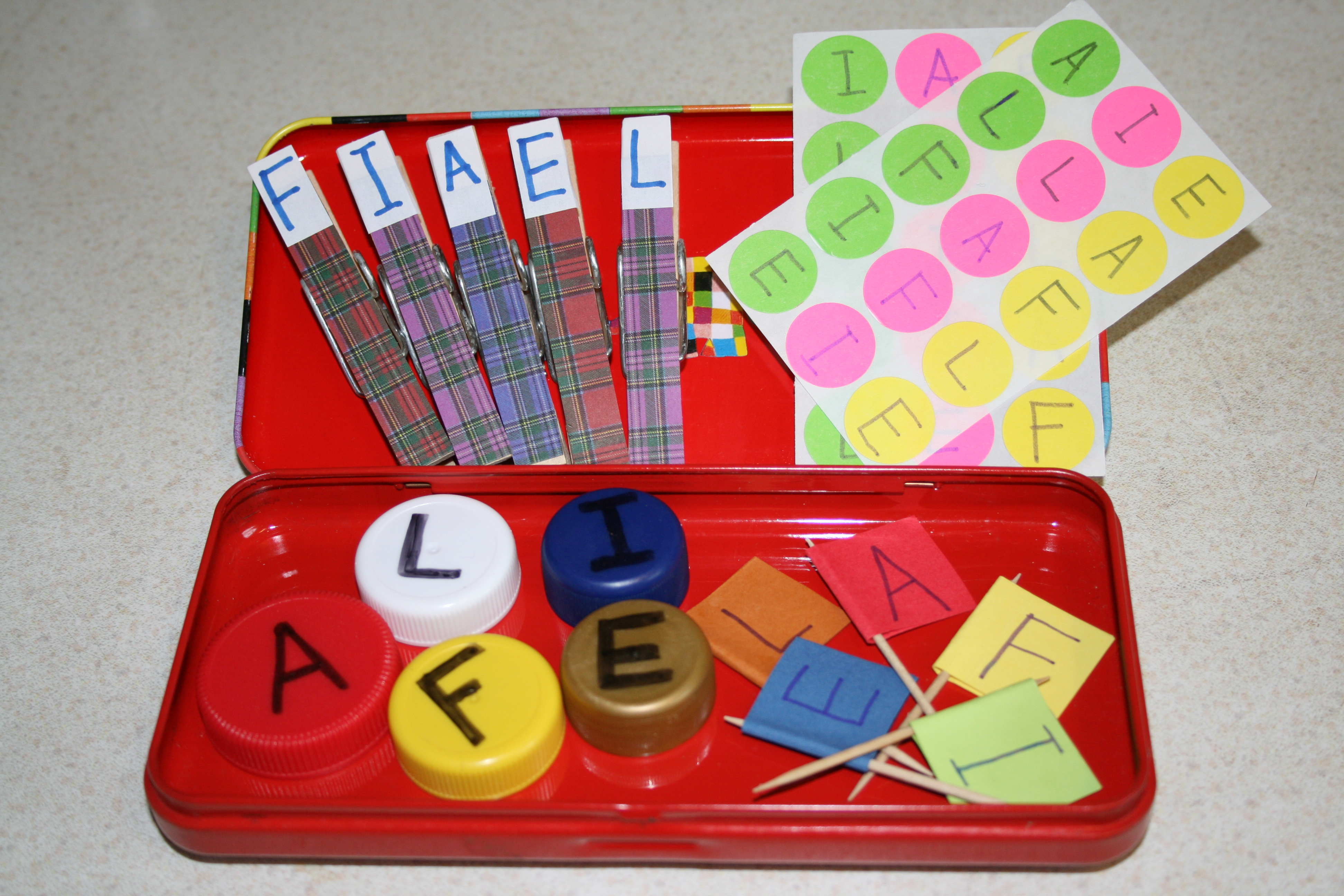 Support Children S Name Writing With Rainbow Names