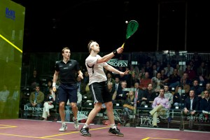 James Willstrop is one of the biggest guys in squash