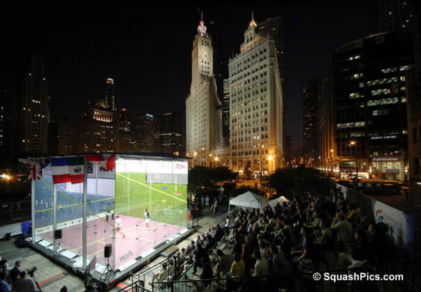 The US Open in Chicago