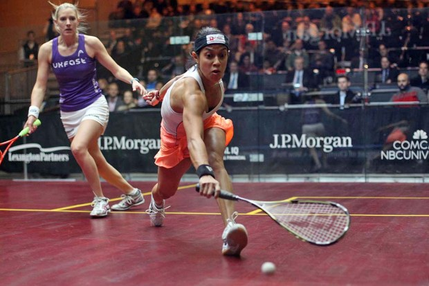 Nicol David beats Laura Massaro in the Tournament of Champions final