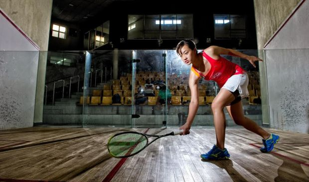 SEEING THE LIGHT: Low Wee Wern is keen to emerge from Nicol David's shadows