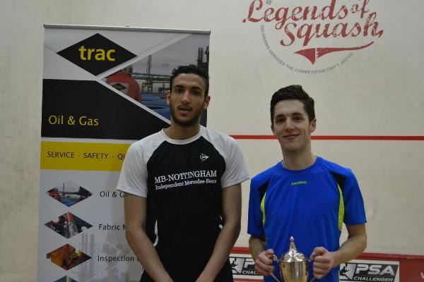 Ben Coleman and Declan James (left)