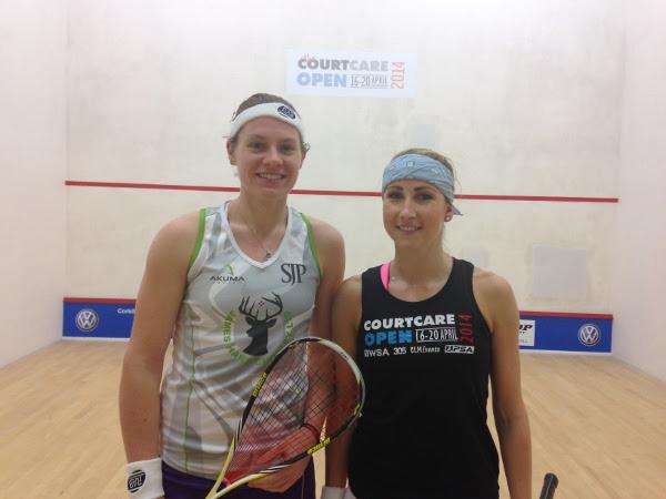 Sarah Kippax and Sarah-Jane Perry (left)