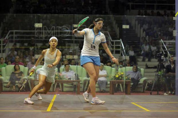 Nour El Sherbini beats Nicol David