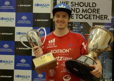 Perth champion Jan Koukal