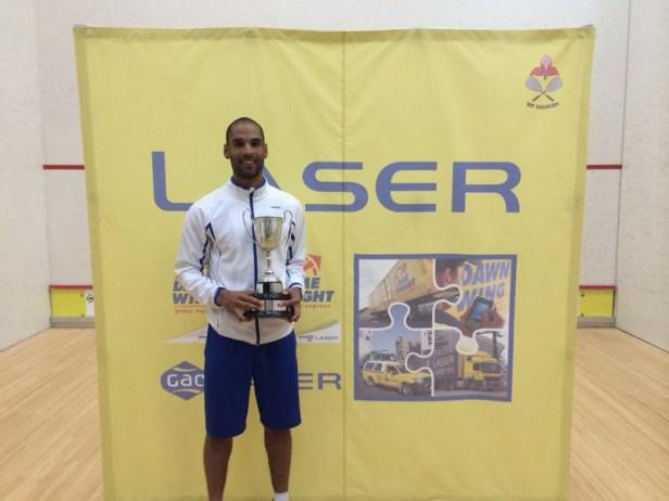 Champion Shaun Le Roux