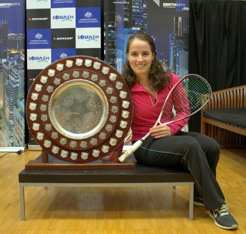 Perth champion Milou van der Heijden