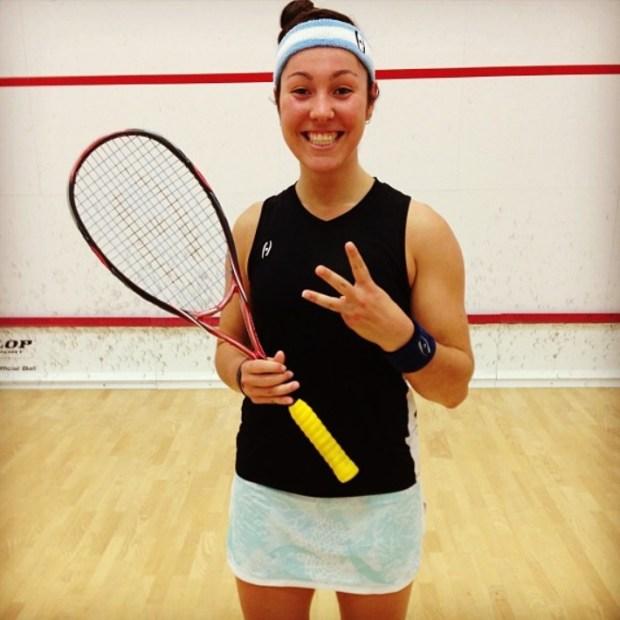 Amanda Sobhy has reached a career-high ranking