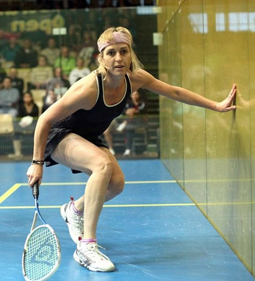 Sarah Fitzgerald is top seed in the over-45s