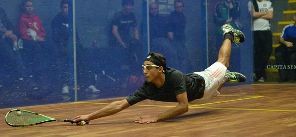 Karim El Hammamy in action