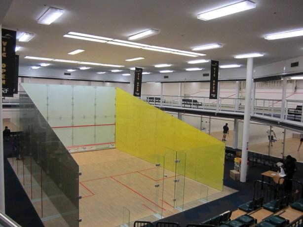 Squash at the MSAC