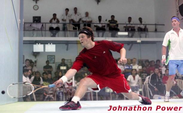 Jonathon Power at full stretch