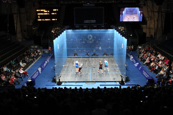 The ASB doubles court in Glasgow