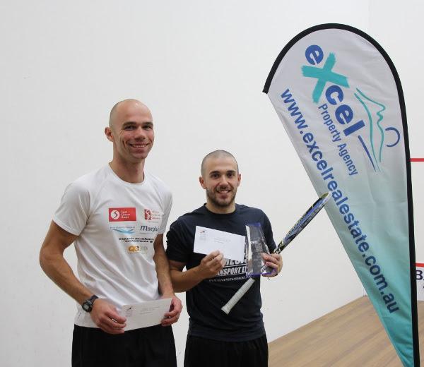 Adam Auckland and Piedro Schweertman