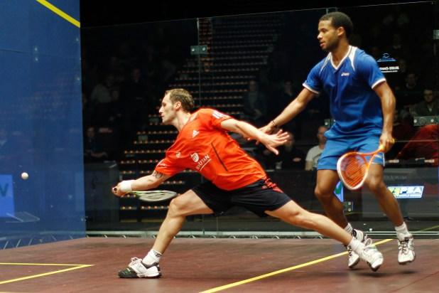Gregory Gaultier is top seed for the World Championship