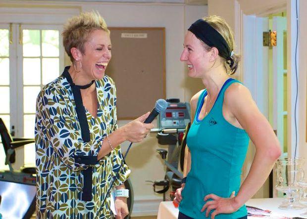 Linda Elriani chats to champion Alison Waters