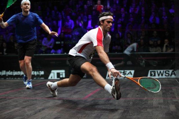 Karim Darwish stretches that hamstring