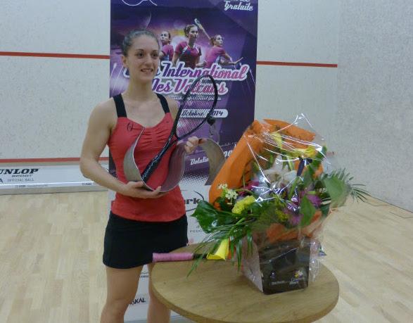 Coline Aumard celebrates her success in France
