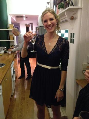 Laura celebrates her birthday as Danny slaves away in the kitchen!