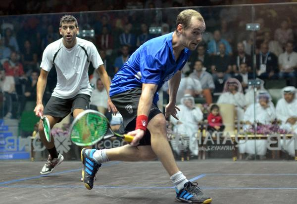 Top seed Gregory Gaultier fights back to win