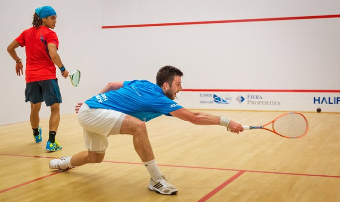 Daryl Selby at full stretch