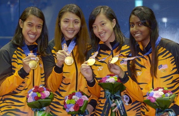 Malaysia's golden girls at the Asian Games