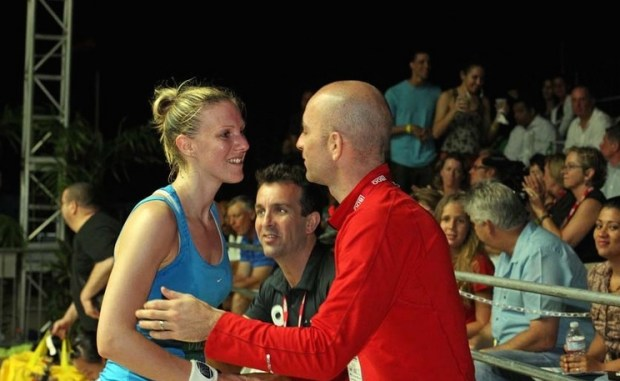 Danny helps wife Laura to fulfil her dreams in squash