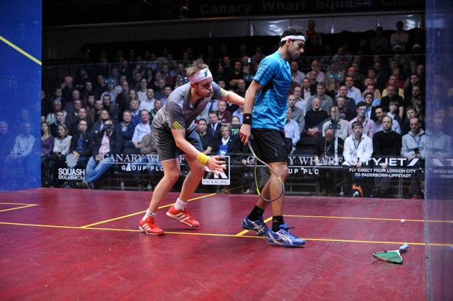 Mohamed Elshorbagy stays at one while the out-of-action James Willstrop slips to eight
