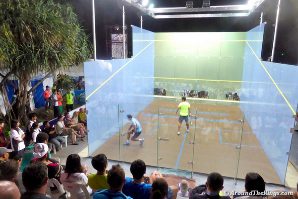 Harinder in action in the Asian Beach Games final in Phuket