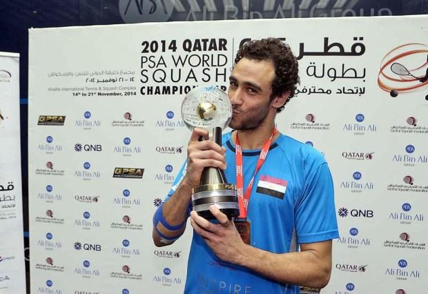 World champion Ramy Ashour will miss New York