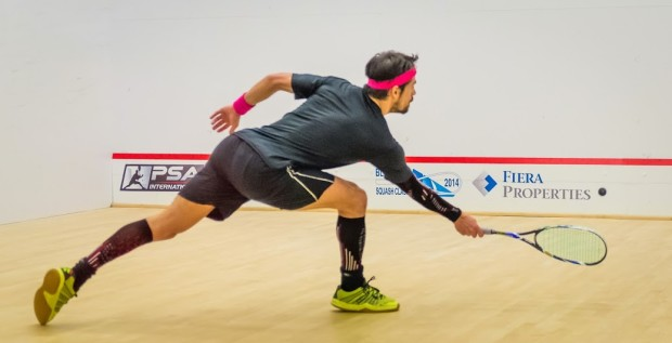 Shawn Delierre has featured in many marathon matches