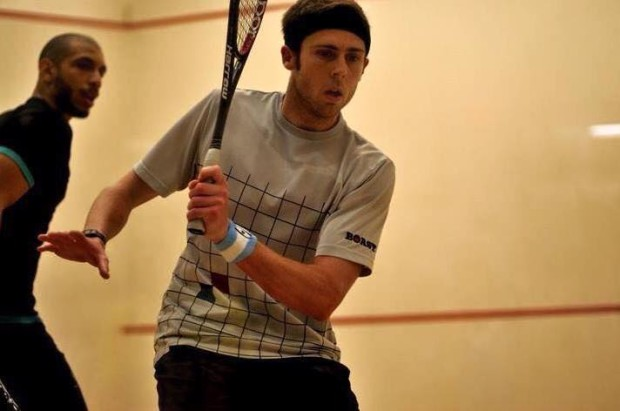 Ryan Cuskelly in action in the final