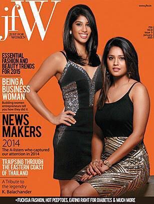 Cover girls: Joshna and Dipika