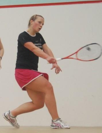 Lauren in action in Edinburgh